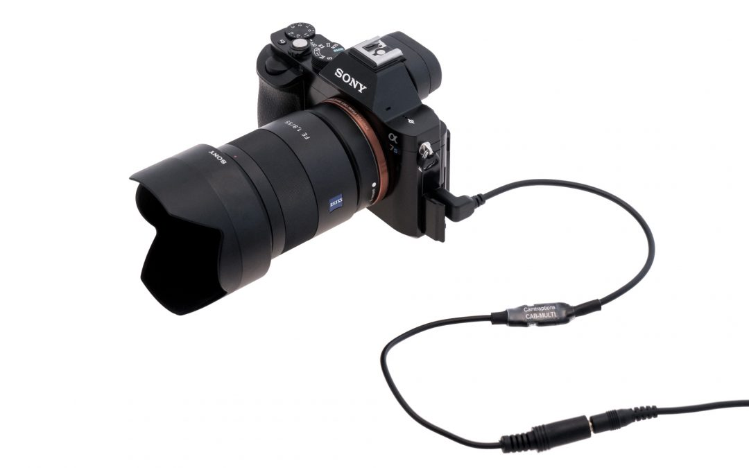New Multi Cable & Controller for Sony Cameras